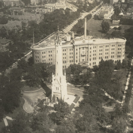 Aerial View Looking North 1926