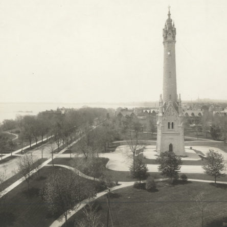 Looking South Circa 1915