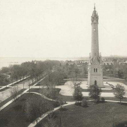 Looking South Circa 1915