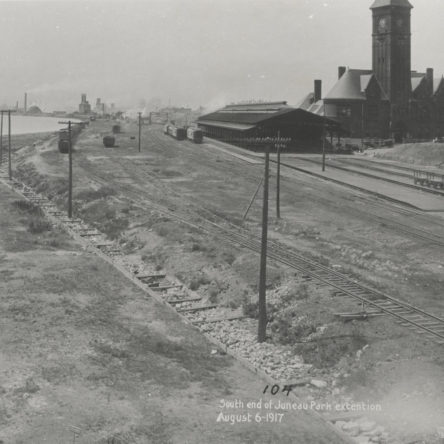 Chicago & North Western Railroad Depot 1917