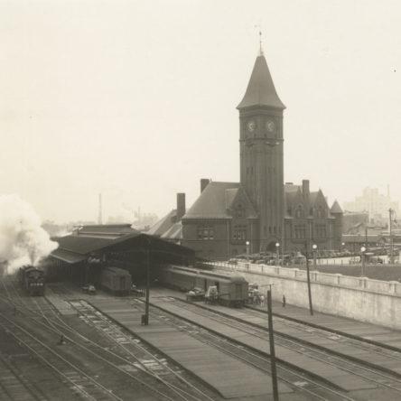 Chicago & North Western Railroad Depot 1927