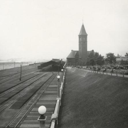 Chicago & North Western Railroad Depot 1930