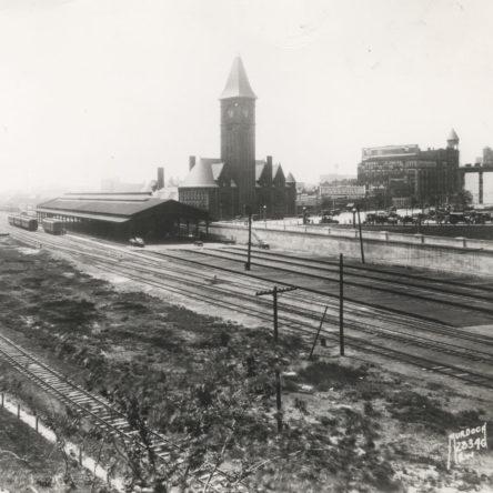 Chicago & North Western Railroad Depot 1946
