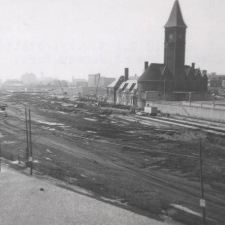 Chicago & North Western Railroad Depot 1967