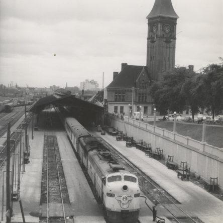 Chicago & North Western Railroad Depot 1956