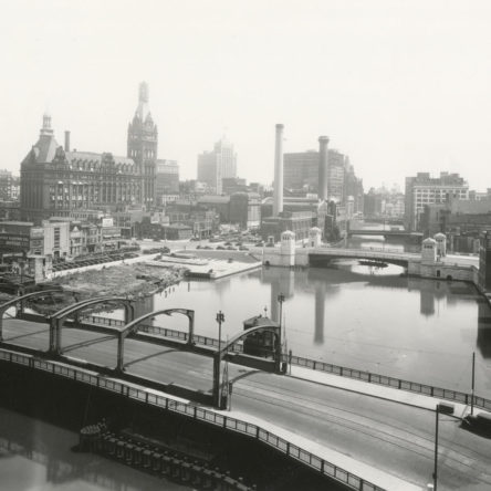 State Street Bridge looking SE, 1930