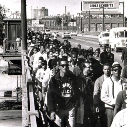 March from Sixteenth Street Bridge